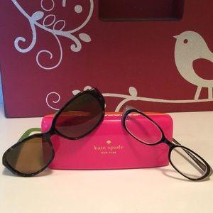 Kate spade Bianca eyeglasses and sunglasses